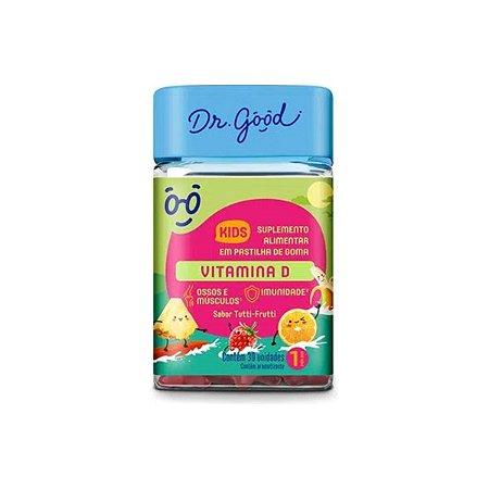 Vitamina D Kids Dr Good Suplemento Gomas Tutti Frutti C/30