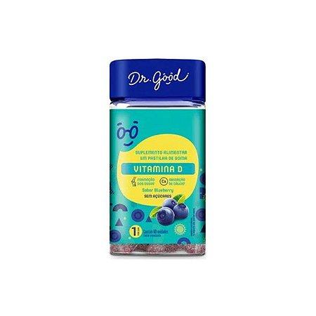 Vitamina D Dr Good Suplemento Gomas Blueberry Diet C/60