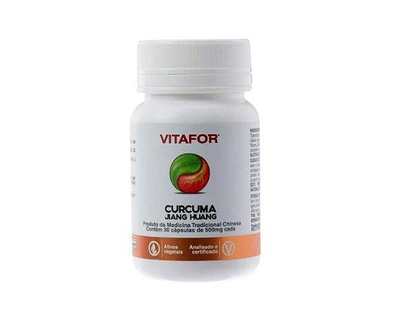 Curcuma Vitafor Jiang Huang 30 Capsulas 500mg