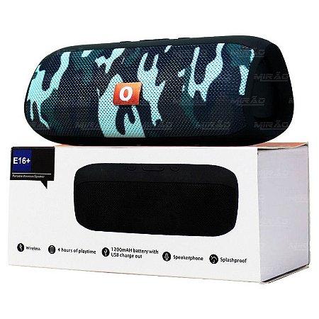 Caixa de Som Bluetooth Xtrad E-16+