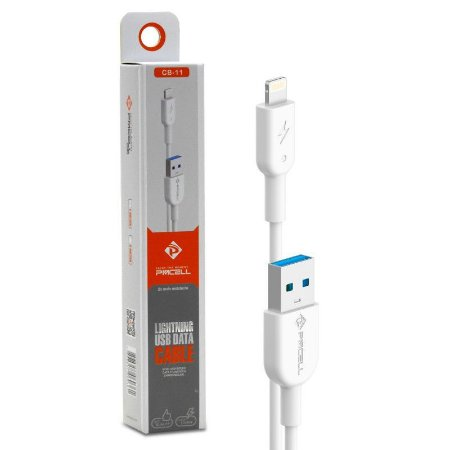 Cabo USB Lightning (IPHONE) PMCELL - 2 Metros