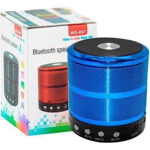 Caixa de Som Bluetooth WS-887