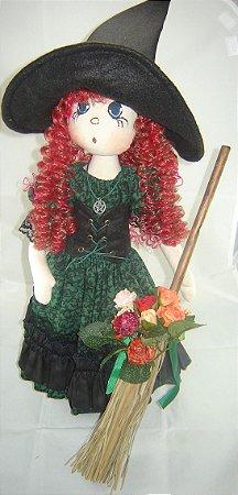 Boneca de pano Bruxa Vivianne cod.232