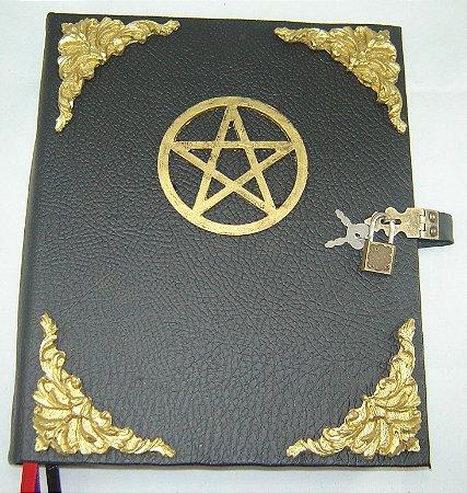 Livro das Sombras com Pentagrama cod.282