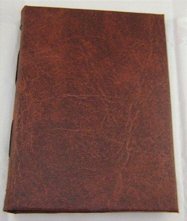 Diario de couro  cod.343