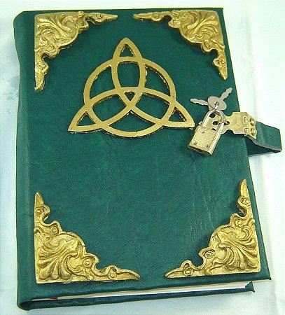 Livro das Sombras triquetra cod.356