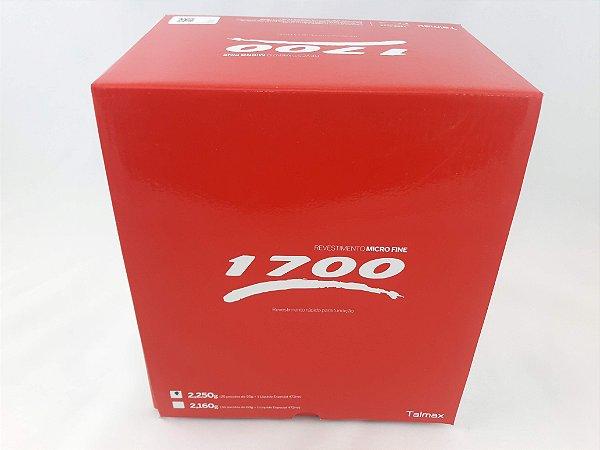 REVESTIMENTO MICROFINE 1700|VENC 30/05/19|4X CX/2,250GRS|9KG|METAL|NICR|COCR|FUNDIÇÃO|TALMAX