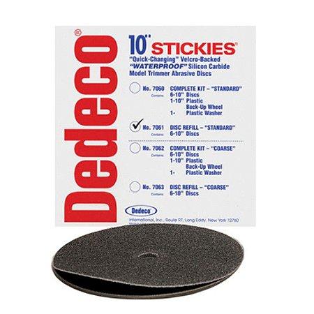 Disco (base) velcro + lixas p/recortador