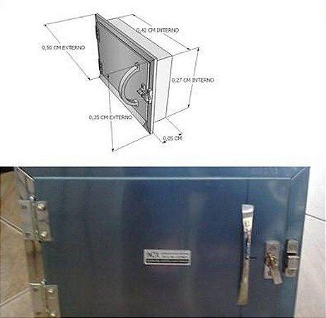 Porta Cinzeiro Em Inox 430