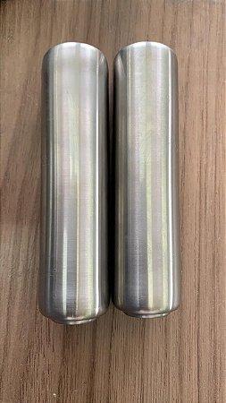 Cabos Inox Para Espeto E Grelha 12cm - 10 Peças