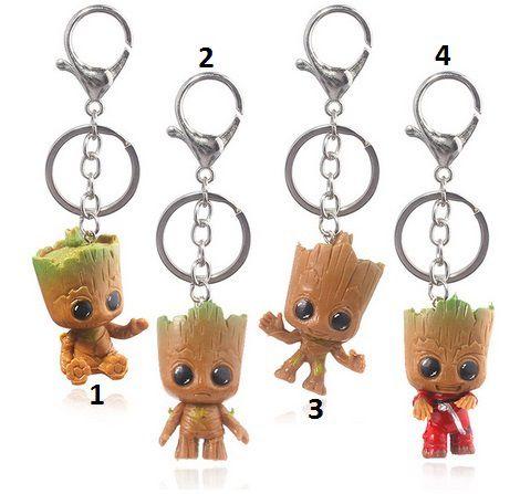 Chaveiro Baby Groot: Guardiões da Galáxia