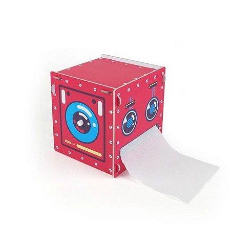 Porta Papel Higiênico - Robô