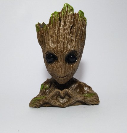 Estatueta Baby Groot Vaso / Cachepô - Guardiões da Galáxia