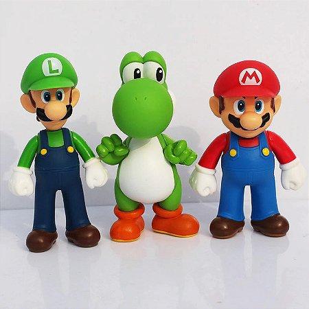 Trio Super Mário Bros, Luigi e Yoshi