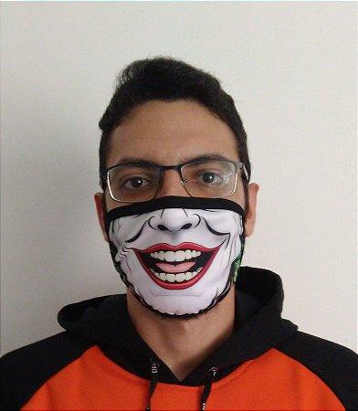 Máscara de Tecido Joker - Coringa Reutilizável
