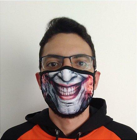 Máscara de Tecido Joker - Coringa Reutilizável (modelo 2)