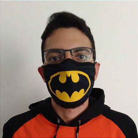 Máscara de Tecido Batman Reutilizável
