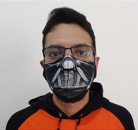 Máscara de Tecido Darth Vader Star Wars Reutilizável