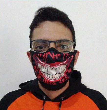 Máscara de Tecido Joker - Coringa Reutilizável (modelo 3)