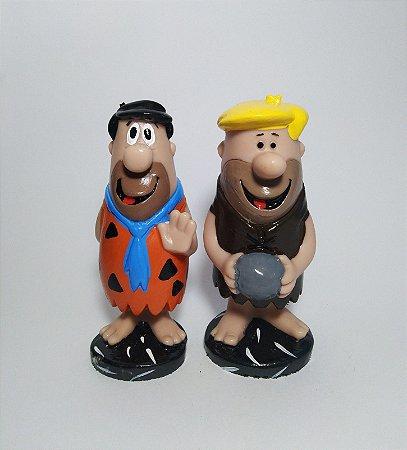 Estatuetas Fred E Barney - Os Flintstones (Dupla)