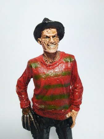 Estatueta Freddy Krueger - Terror