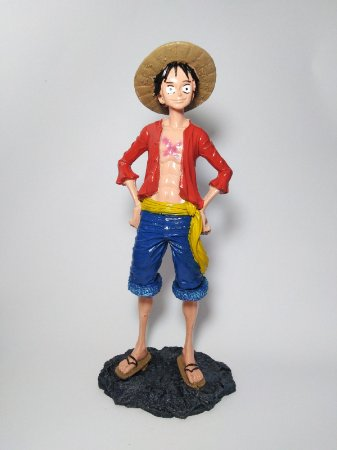 Estatueta Monkey D. Luffy - One Piece