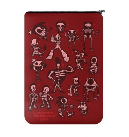 Capa Para Notebook Caveiras - Cartoon