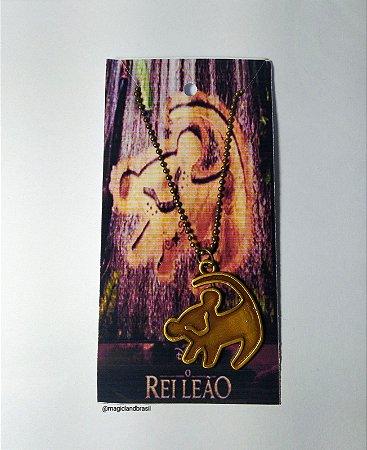 Colar O Rei Leão - Simba - Hakuna Matata