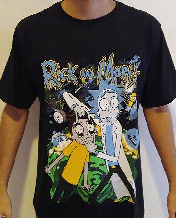 Camisa Rick and Morty