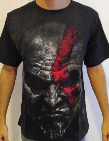 Camisa Kratos - God Of War