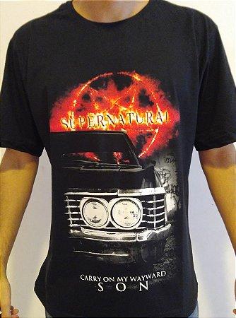 Camisa Sobrenatural - Supernatural
