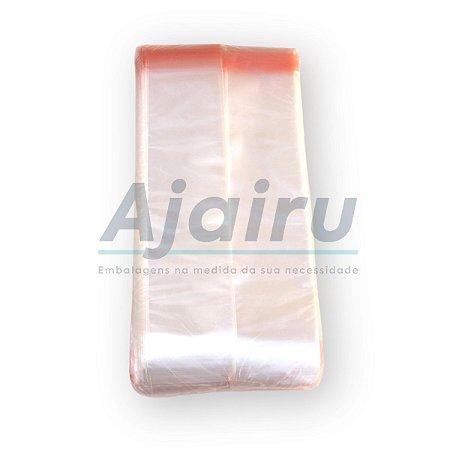 Saquinho Plástico Fita Adesiva 6,5x26,5x0,07 PP 430 Unidades