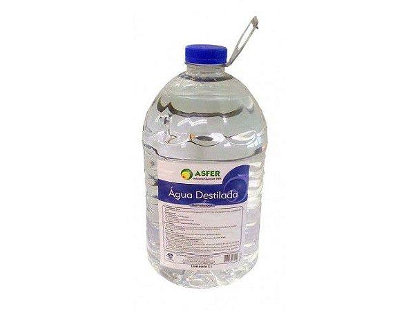 Água Destilada 5 LT