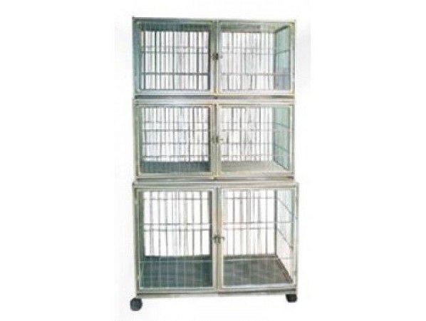 Canil zincado para 6 animais
