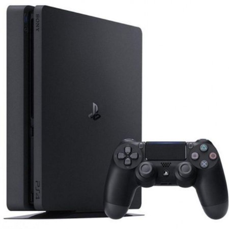 PlayStation 4 Slim 1Tera Lacrado + 3 jogos + 3 meses de plus
