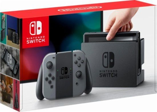 Nintendo Switch 32GBS Gray