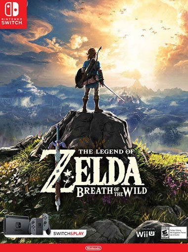 THE LEGEND OF ZELDA: BREATH IN THE WILD - NINTENDO SWITCH