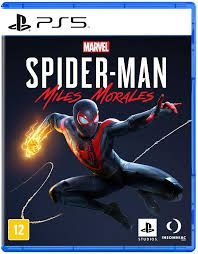 SPIDER MAN MILES MORALES - VERSÃO PADRÃO PS5
