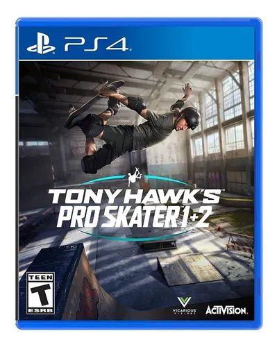 TONY HAWK´S PRO SKATER 1+2 - PS4