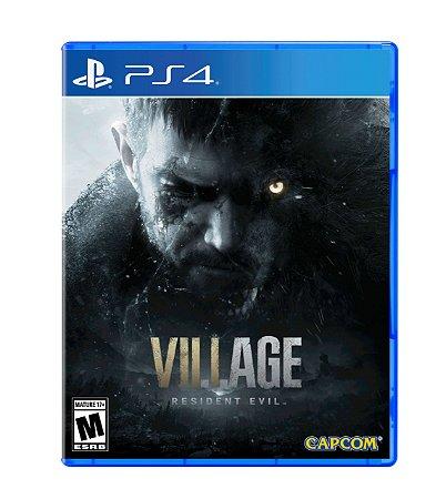 PRÉ-VENDA - RESIDENT EVIL VILLAGE - PS4 / XBOX SERIES S/X