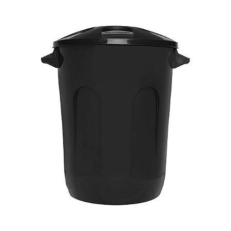 Cesto fechado para lixo 93 litros Eco Nature