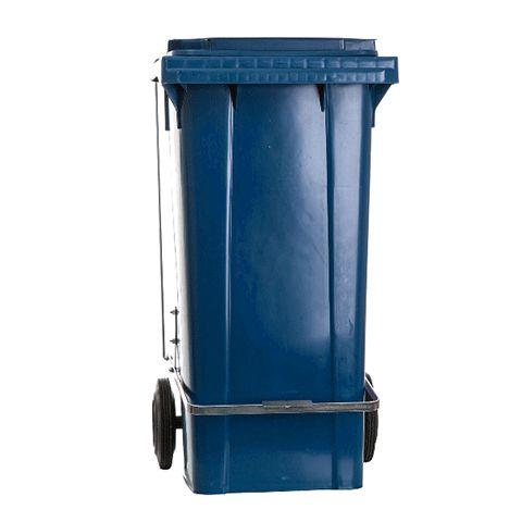 Containers de lixo c/ Rodas e Pedal 120 Litros