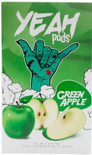 Yeah Pods Green Apple - Compatíveis com Juul - Yeah