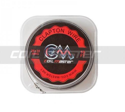 Fio K Clapton Wire 26+30GA - 3,04Metros -  Coil Master