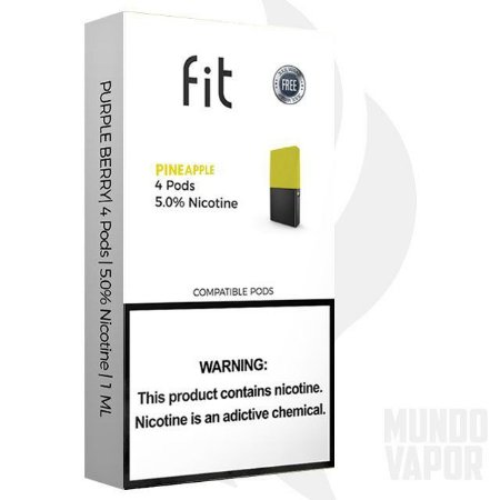 Fit Pineapple compatível JUUL