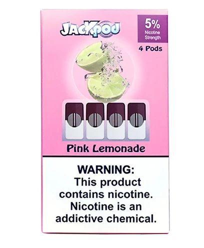 JackPod Pink Lemonade compatível JUUL