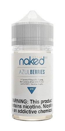 Líquido Azul Berries Cream - NAKED 100