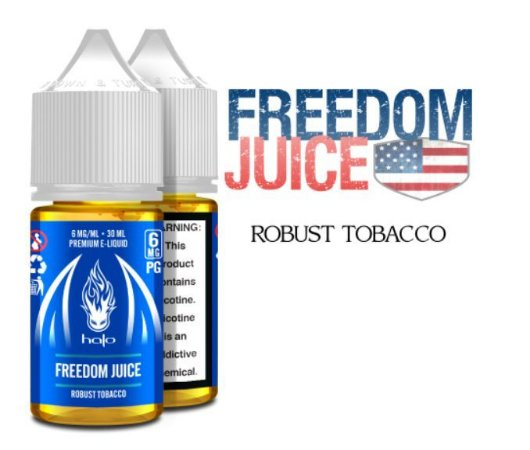 Líquido Halo - Freedom Juice (Robust Tobacco)