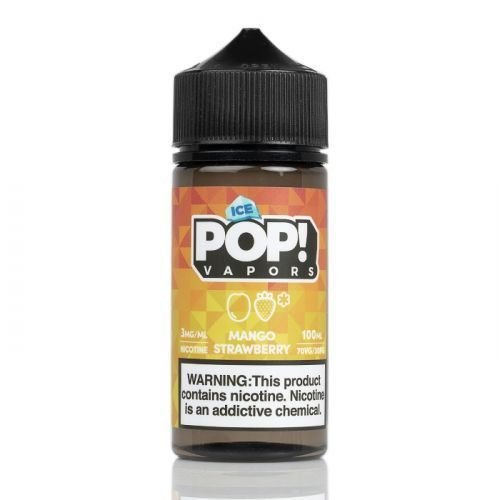 Líquido Juicy Mango Strawberry Iced - POP! VAPORS