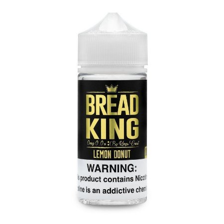 liquido Kings Crest - Bread King - Lemon Donut